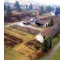 Torzo skleníku, v němž byl Zlatý rekord kdysi pěstován.